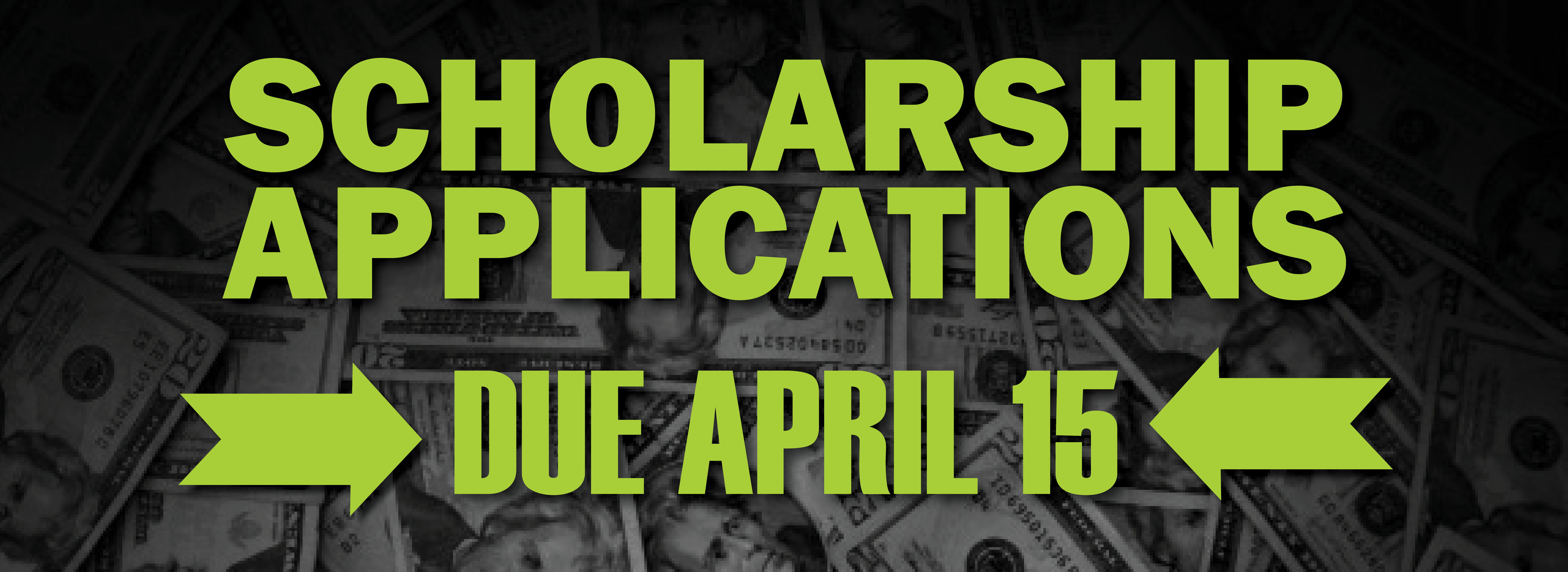 scholarship applications link